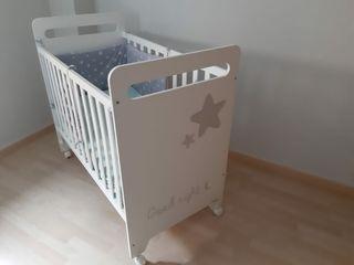 Cuna bebe +colchon