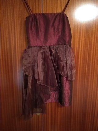 Vestido de fiesta de boutique talla S 1 uso.