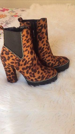 Botines de leopardo a estrenar