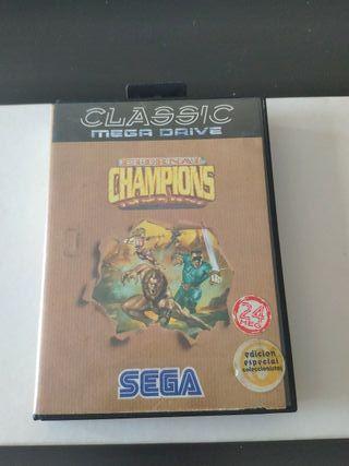 juego champions de sega mega Drive completo