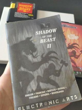 shadow of the beasf II mega Drive completo