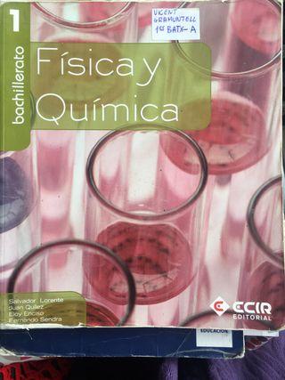 Libro Física y química 1 bachiller