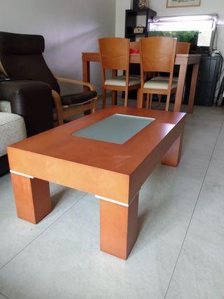 mesa centro cerezo