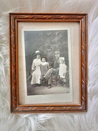 Foto de familia antigua