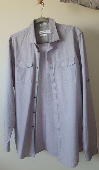 Camisa de hombre Calvin Klein Malva