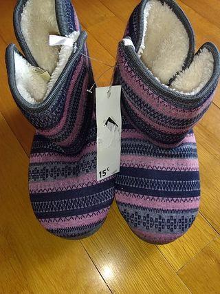 bota zapatilla Nueva