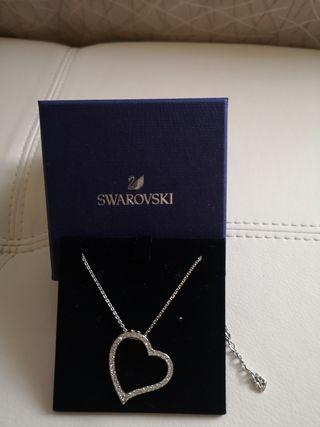 Colgante corazón Swarovski