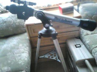 telescopio con camara y lentes cds
