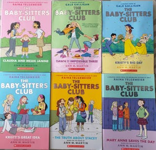 6 Books The Baby Sitters Club Inglés