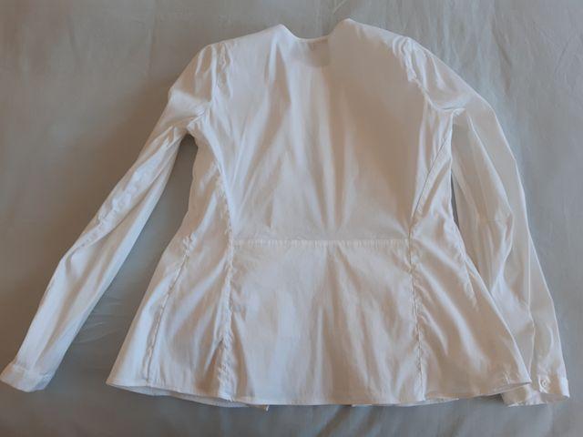 Camisa Blanca de Massimo Dutti