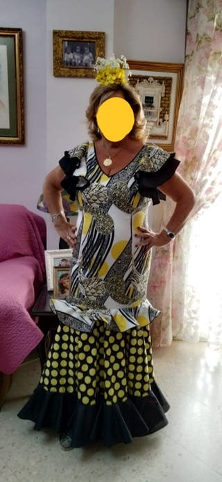 vestido flamenca talla 44