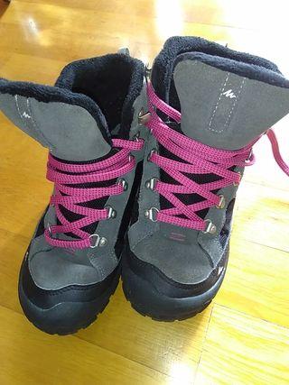 calzado invierno