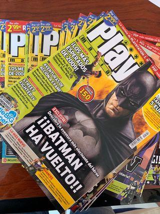 Revista Play Manía videojuegos. Consulta números.