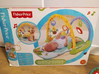 Manta de actividades bebés Fisher Price