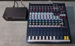 mesa de mezclas Soundcraft
