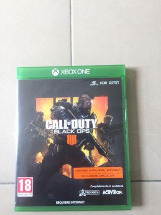 Cod black ops 4 Xbox one