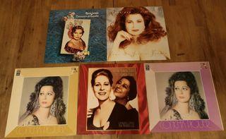 6 LP vinilos Paco de Lucia Jurado Concha Piquer