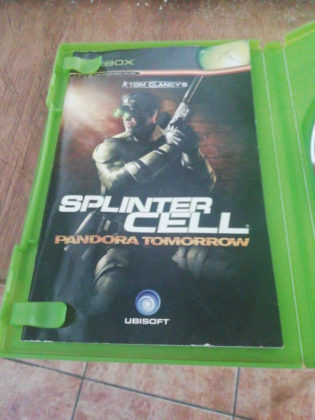 juego splinter cell pandora tomorrow