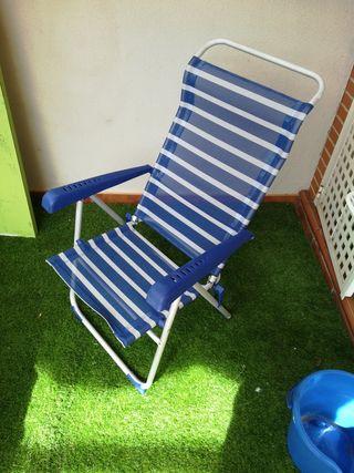2 sillas de playa