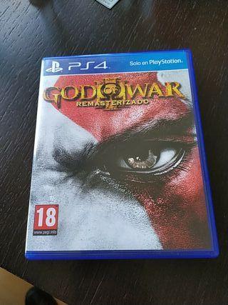 God of war 3 ps4 remasterizado