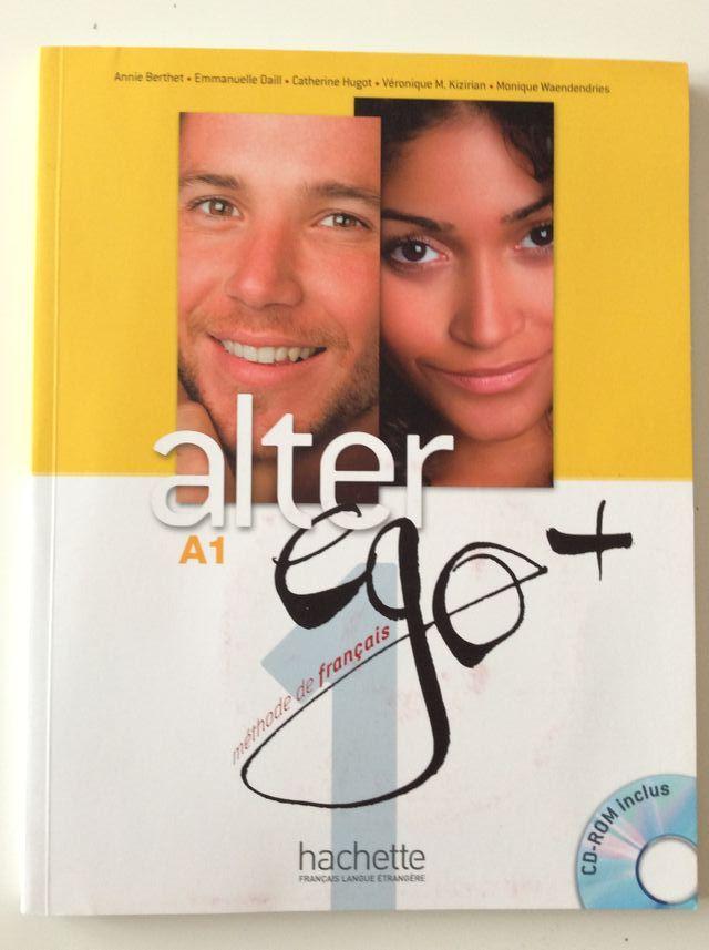 Libro Alter Ego + A1 Hachette (francés)