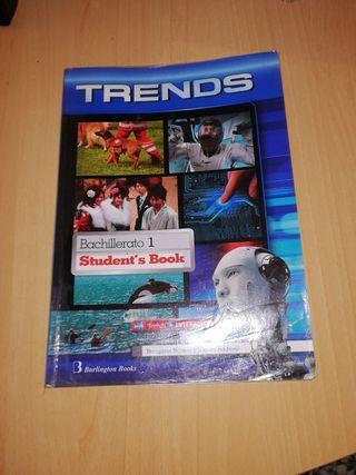 Libro de inglés Trends 1°bachillerato