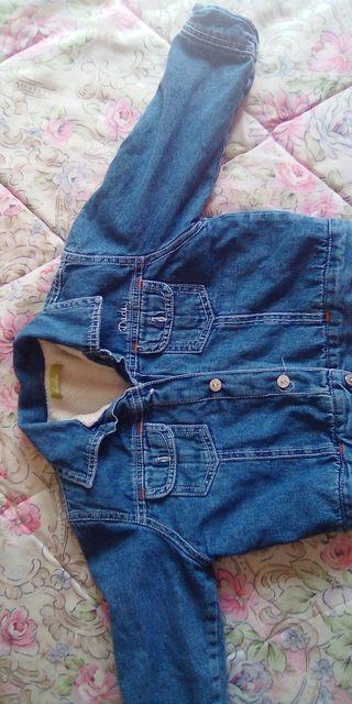 chaqueta de niño talla 18-24 meses