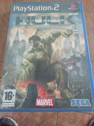 juego el increible hulk el videojuego oficial