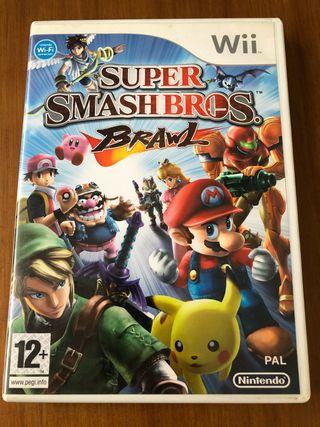 Súper Smash Bros Brawl