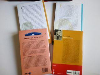 10eu 4libros Nietzsche kant Descartes Orwell