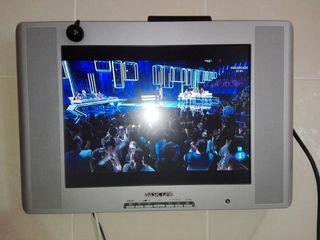 televisión plana 15 pulgadas