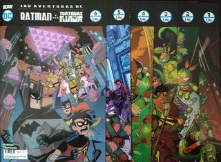 BATMAN Y LAS TORTUGAS NINJA 1a6 COMPLETA DC Comics