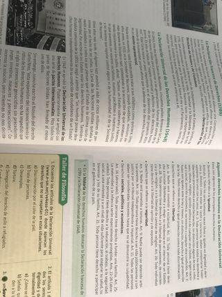 Libro valores éticos 4 eso