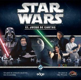 Lote Star Wars LCG+20 Expansiones-Juego de Cartas