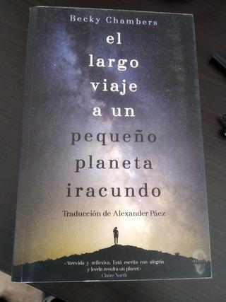 Libro el largo viaje a un planeta iracundo