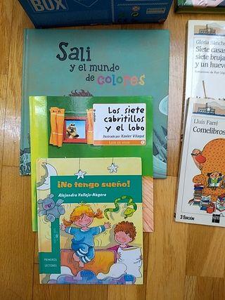 Lote juguetes y libros