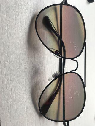 Gafas de sol aviador negras