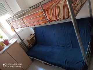 Litera con sofa cama.