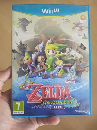 Zelda WindWaker HD Wii U