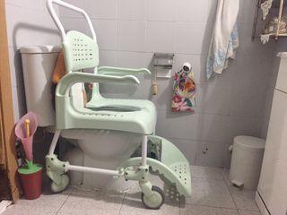 Silla de ducha y WC