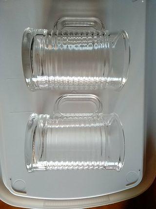Dos tazas de cristal Luminarc