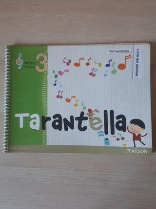 Libro Música 3 primaria Tarantella