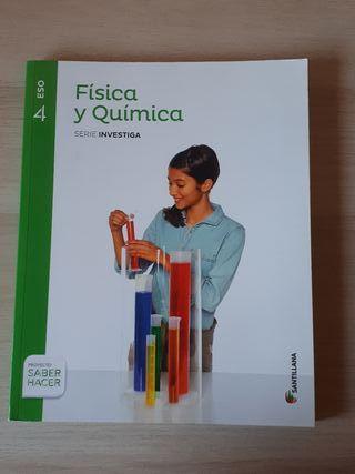 Física y Química 4 E.S.O.