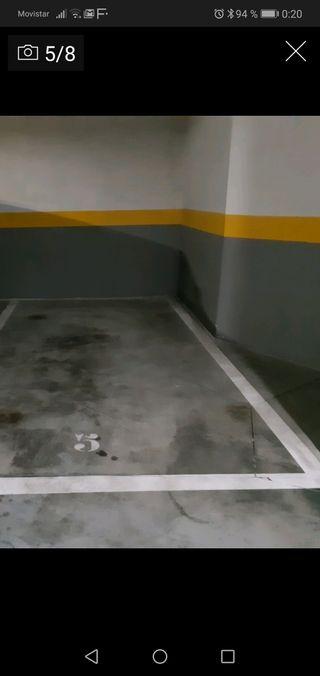 Alquiler plaza de garaje, con video vigilancia