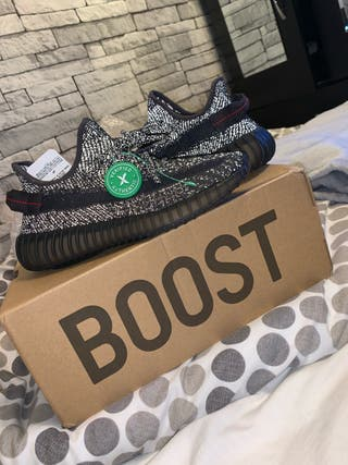 Yeezy Boost 350 V2 black reflective