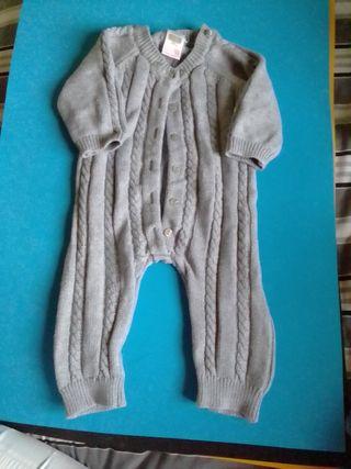 Pijama de punto Zara mini 1-3 meses