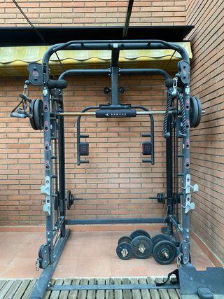 Estación de musculación Domyos bm 970