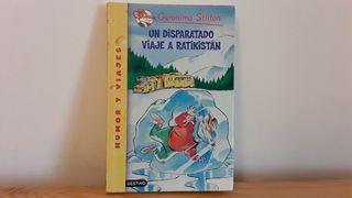 Gerónimo Stilton, libro infantil