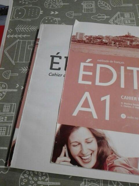 libros frances edito A1 EOi