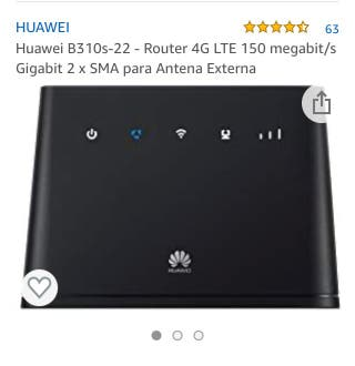 Router 4g Huawei